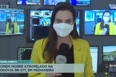 Homem morre atropelado em rodovia na cidade de Medianeira