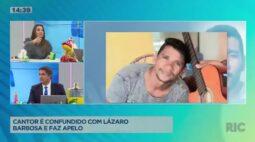 Cantor maranhense é confundido com o serial killer Lázaro Barbosa e faz apelo