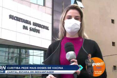 Curitiba pede mais doses de vacina: capital estaria em desvantagem