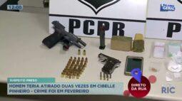 Suspeito de atirar contra jovem Cibelle Pinheiro, em fevereiro deste ano, foi preso pela PM