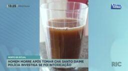 Homem morre após tomar chá Santo Daime e polícia investiga se foi intoxicação