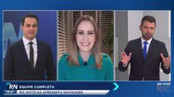 Marc Sousa passa comando do RIC Notícias a Eduardo Scola