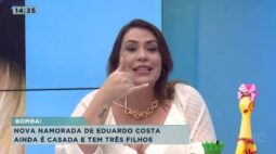 Nova namorada de Eduardo Costa ainda é casada e tem três filhos