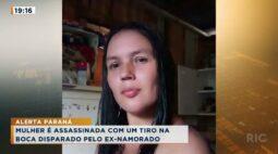 Mulher é assassinada com um tiro na boca disparado pelo ex-namorado