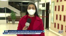 Matinhos exige título de eleitor para moradores que querem ser vacinados