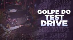 Ladrão pede para fazer test drive e bate carro em árvore após perseguição
