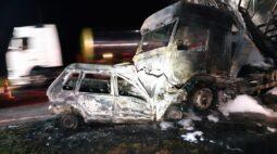 Duas pessoas morrem e quatro ficam feridas em acidentes nos Campos Gerais