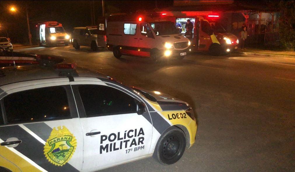 Adolescente é apreendido após esfaquear pai e uma mulher, em Campo Largo