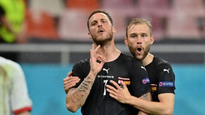 Após comemoração polêmica, Uefa pune Arnautovic por um jogo na Eurocopa