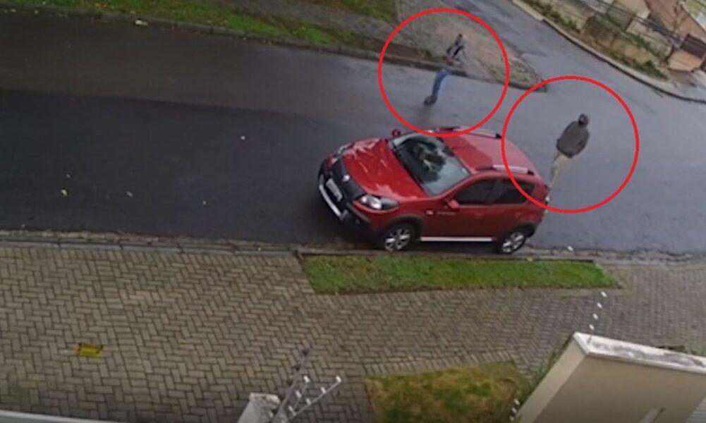 Criminosos rendem vítima e roubam veículo em plena luz do dia, no bairro Pilarzinho