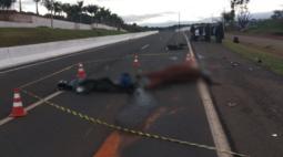 Motociclista morre após atropelar cavalo na PR-445, em Londrina