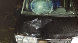 Homem morre ao ser atropelado por van na BR-467, entre Cascavel e Toledo