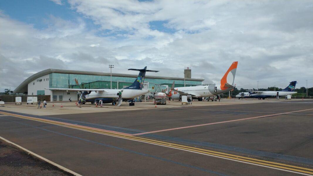 Companhia aérea retoma vôos diretos entre Curitiba e Cascavel