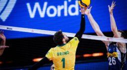 Na estreia de Lucão, Brasil vence Itália e está na semifinal da Liga das Nações