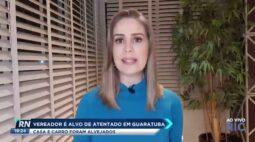 Vereador é alvo de atentado em Guaratuba: casa e carro foram alvejados