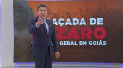 AO VIVO: Equipe do Balanço Geral Curitiba acompanha buscas por Lázaro Barbosa, em GO