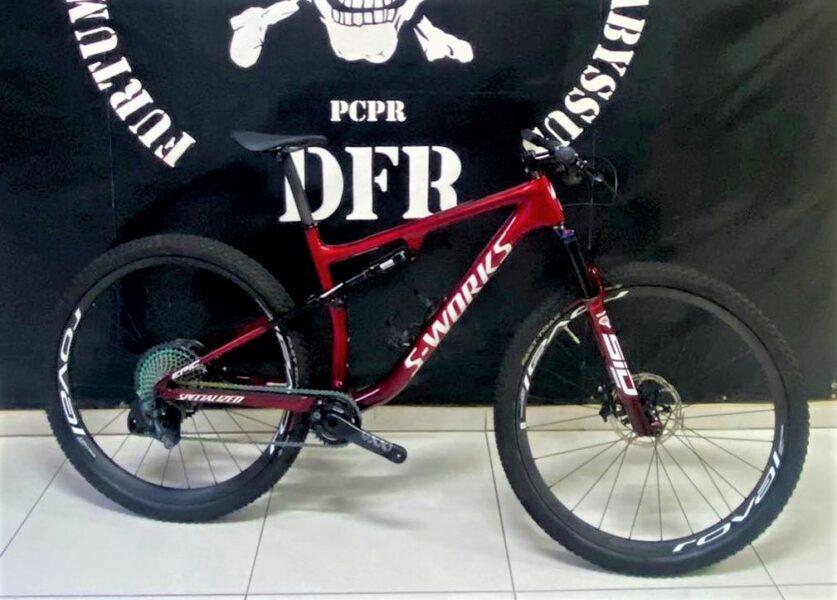 PCPR recupera bicicleta avaliada em mais de R$ 100 mil furtada em Curitiba