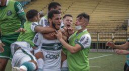 Coritiba bate o Botafogo nos pênaltis e levanta a taça da Copa do Brasil sub-20