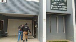 Assaltante é preso minutos após roubar carga de produtos avaliada em R$ 13 mil