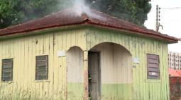 Marmita causa princípio de incêndio em casa de Londrina