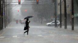 Instituto de meteorologia alerta para chuva volumosa na região sul nos próximos dias