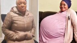 Mulher que teria dado à luz a 10 bebês é presa por inventar gravidez