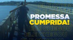 Pagador de promessa finaliza caminhada de 770 quilômetro até Aparecida