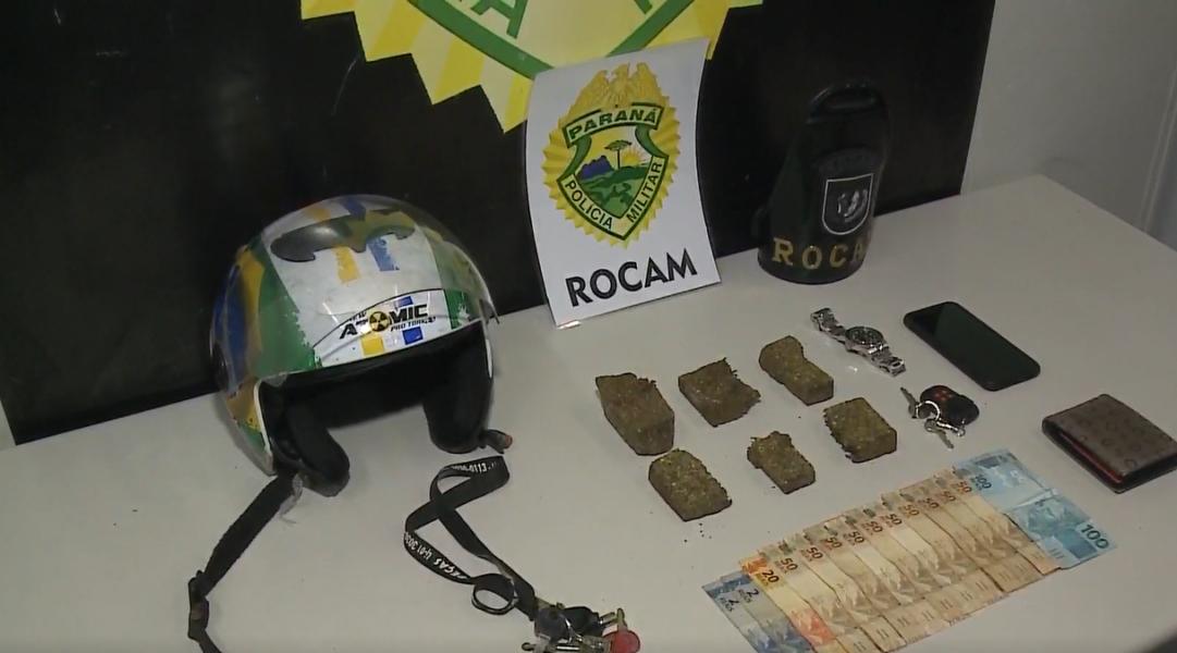 Homem preso fazendo 'delivery de maconha' diz que entregava para classe média alta da capital
