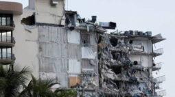 Prédio desaba na Flórida; uma pessoa morreu e equipes buscam sobreviventes