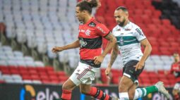 Coritiba joga mal diante do Flamengo, é derrotado 2 a 0 e acaba eliminado da Copa do Brasil