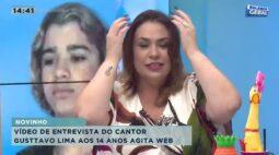 Vídeo de entrevista do cantor Gusttavo Lima aos 14 anos agita a web
