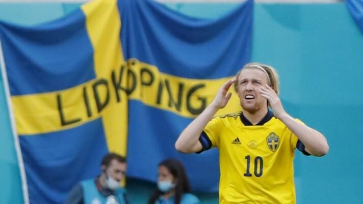 Suécia bate a Eslováquia e lidera o grupo E da Eurocopa