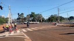 Trânsito na Faria Lima é liberado e obra é concluída, em Londrina