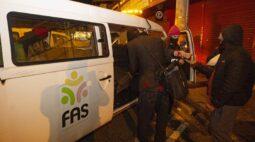 Frio em Curitiba: FAS acolhe mais de 965 pessoas por noite no final de semana