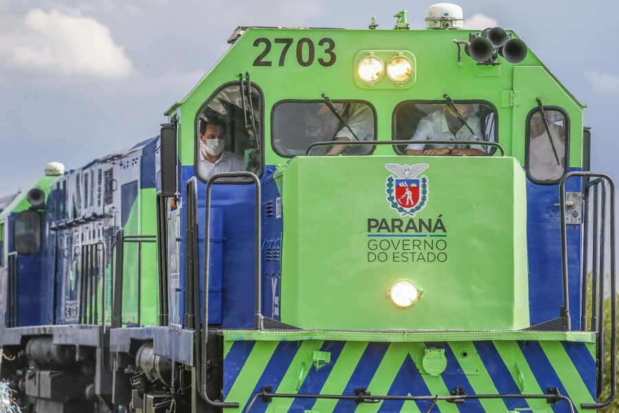 Nova ferroeste é apresentada e vai ligar Mato Grosso do Sul ao porto de Paranaguá