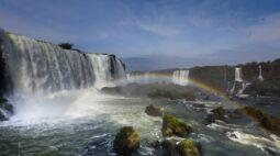 Vazão de água das Cataratas do Iguaçu voltam à 'quase' normalidade com chuvas
