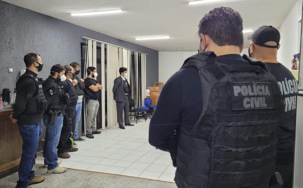 Golpe Imobiliário: PCPR cumpre mandados contra grupo criminoso que causou prejuízo de R$ 2,5 milhões