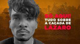 Lázaro montou acampamento e manteve refém, mulher escapou, mas foi perseguida e morta