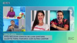 Após recusar convite de Luan Santana, Juliette firma parceria com outro cantor