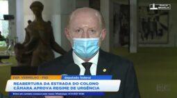 Reabertura da Estrada do Colono: câmara aprova regime de urgência
