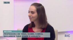Izabel Cabral explica o que é yoga e os benefícios que ela traz