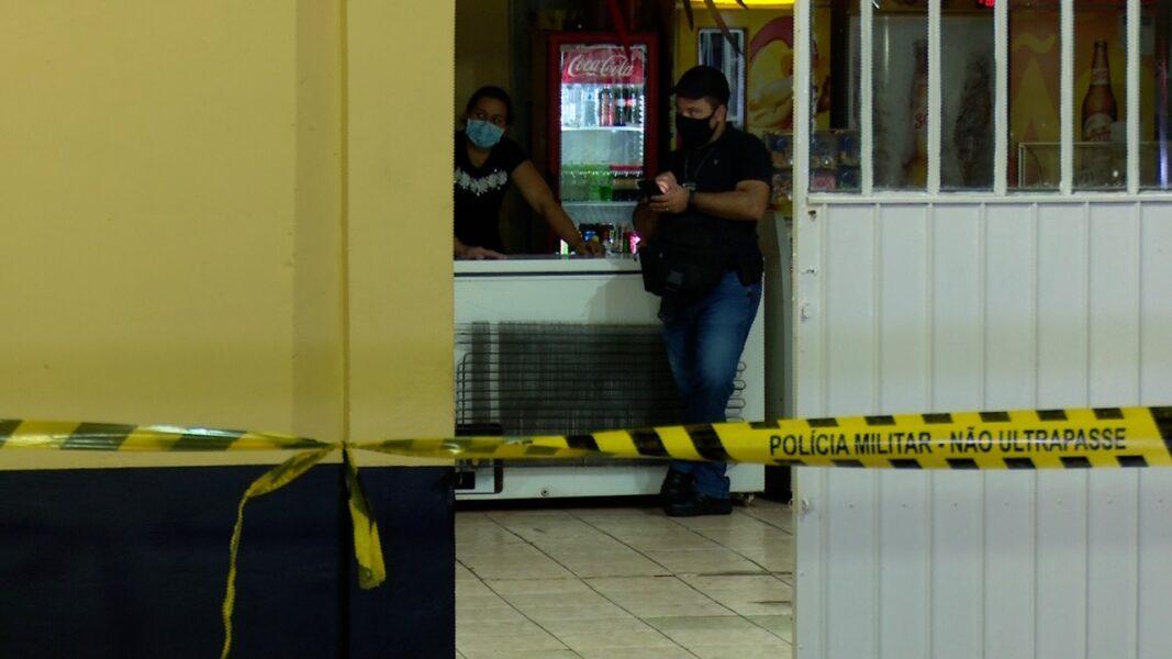 DH investiga homicídio em bar, no Bairro Brasília, em Cascavel