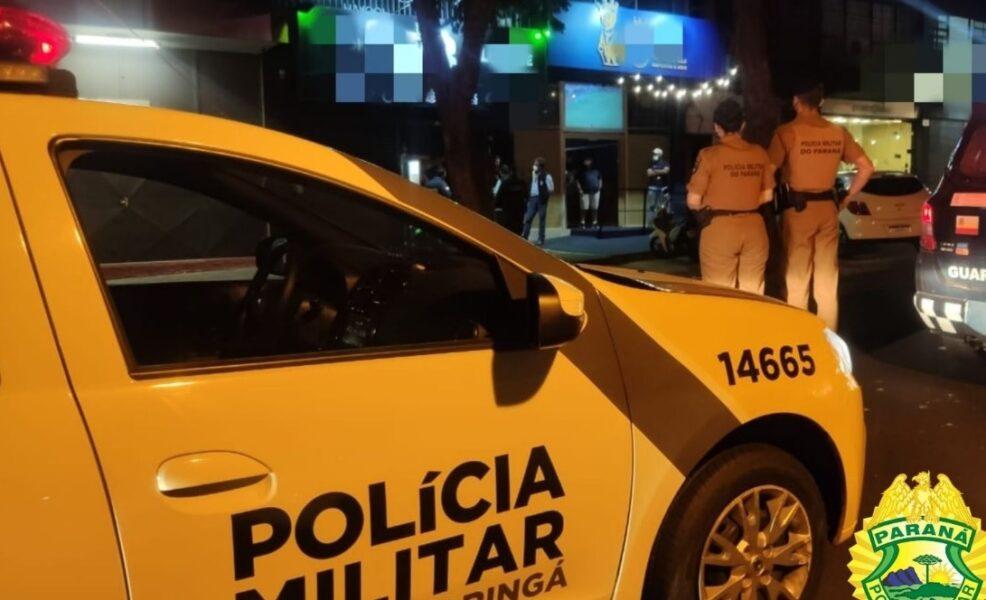 Jovem é baleado pela PM após fugir e apontar arma de fogo, em Maringá