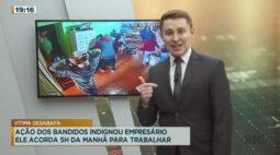 Bandidos invadem empresa de reciclagem, ameaçam vítimas e levam dinheiro do caixa