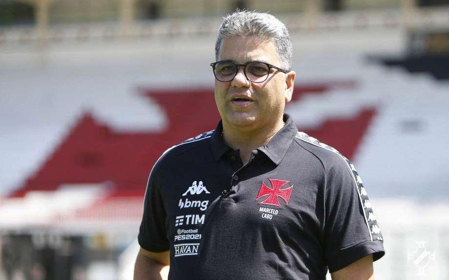 Marcelo Cabo faz mistério sobre mudanças na escalação do Vasco