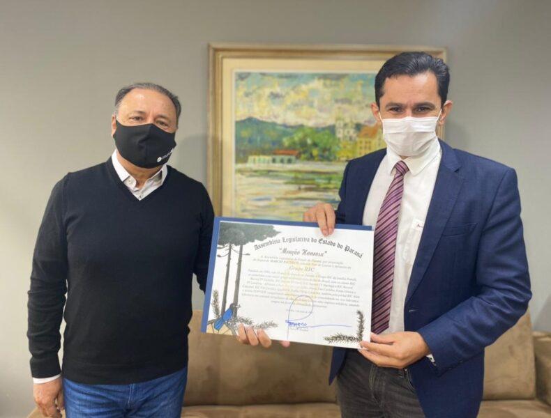 """Grupo RIC recebe certificado de """"Menção Honrosa"""" da Alep pelos 34 anos de atuação"""