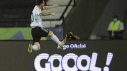 Messi supera Cristiano Ronaldo em gols de falta