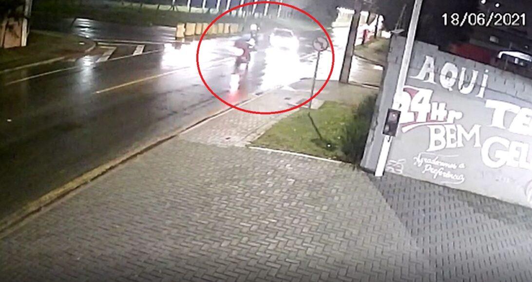 Motociclista morre após acidente com carro no Bairro Alto