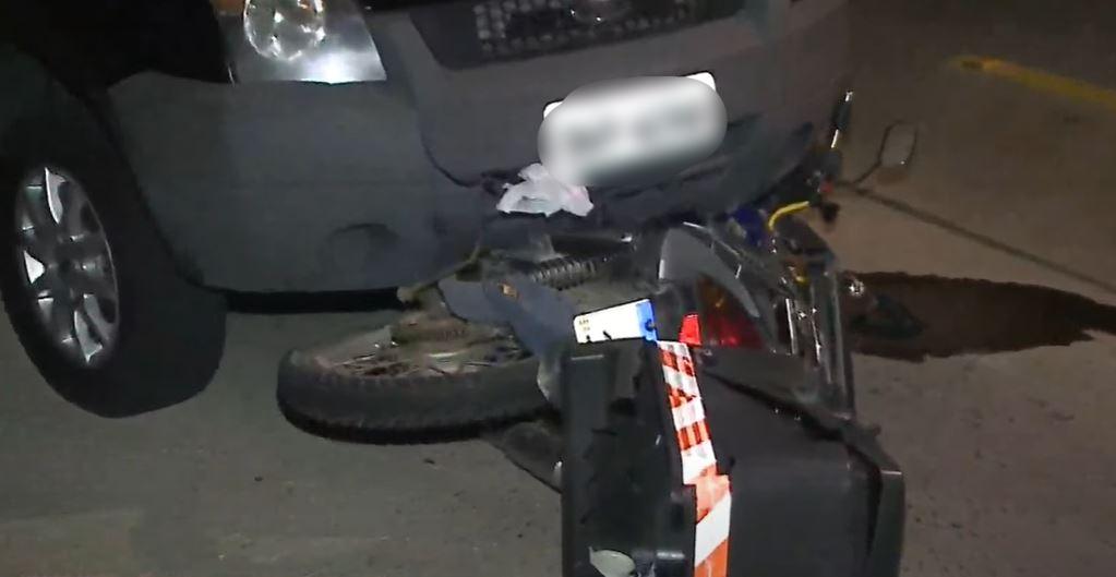 Motociclista morre após colidir contra traseira de veículo no Cascatinha, em Curitiba