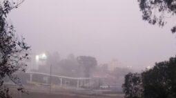 Domingo amanhece com temperaturas negativas e geada no sul do Paraná